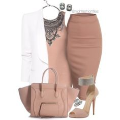 Blushing Pink by highfashionfiles