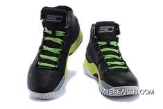 a085acb80038 Under Armour Curry 2 Signature Black Light Green White Basketball Shoes  Latest