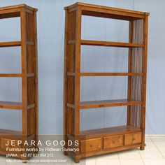 We produce minimalist cabinet rack and bookshelf furniture made of teak at factory price. Best traditional handmade by skilled #craftsman Indonesia. #furniturefactory #rackfurniture #cabinetdisplay #bookshelf #teakfurniture #minimalistfurniture #teakfactory #indonesiafurniture #contemporaryfurniture