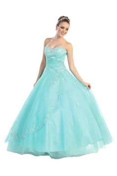 ef45eb35e84 Get this quinceanera dress at Bridal   Formal by RJS