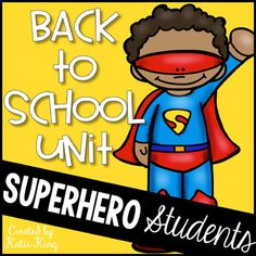 Superhero Squad Poster Seven Characteristic Posters Superhero Student Book Writing and Drawing Activity Get to Know the Squad Game Superhero Skills Math Game Meet Your Superhero