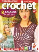 "Gallery.ru / WhiteAngel - Альбом ""Tejido practico Crochet Calados 2008-08"" Crochet Symbols, Crochet Chart, Filet Crochet, Crochet Lace, Crotchet, Magazine Crochet, Knitting Magazine, Knitting Books, Crochet Books"