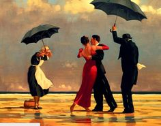 Jack Vettriano The Singing Butler painting is shipped worldwide,including stretched canvas and framed art.This Jack Vettriano The Singing Butler painting is available at custom size. Jack Vettriano, The Singing Butler, Dancing In The Rain, Dancing Couple, Rain Dance, People Dancing, Fine Art, Gustav Klimt, Henri Matisse