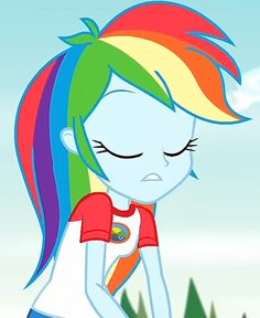 Rainbow Dash, Equestria Girls, Mlp, My Little Pony, Sassy, Album, Awesome, Anime, Character