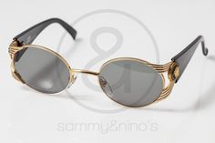 Image of Gianni Versace Mod.S65 BK:: Vintage Sunglasses