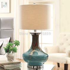 Moderne salle à manger bleu gourde en céramique lampes de Table de bureau lecture de chevet éclairage dans Lampes de chevet de Lumière et éclairage sur AliExpress.com | Alibaba Group
