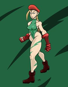 Cammy from Street Fighter  #cammy #white #cammywhite #toon #art #fanart #drawing #omegalbagel #street #fighter #streetfighter
