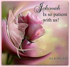 Jehovah is not slow concerning his promise, as some people consider slowness, but he is patient with you because he does not desire anyone to be destroyed but desires all to attain to repentance. 2Pet. 3:9