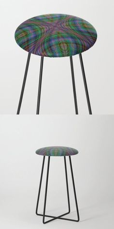 Gloom Counter Stool by David Zydd #BestCounterStools #Decor #Home #RoomDecor (tags: home decoration, dining room, graphic design, decor, gift, counter, furniture, stool, society6, home, multicolor, art, chair, design, gift idea, interior design, dining, artist)