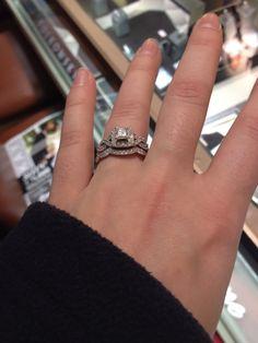 Neil Lane Engagement Ring 2-1/6 ct tw Diamonds 14K Rose Gold FuTwGJk