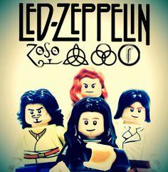 NOSSAS BANDAS FAVORITAS by Lego
