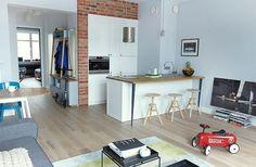 Mieszkanie na warszawskiej Pradze - 60 m2, proj. Joanna Kiryłowicz (Sikorskałowicz Architekci)