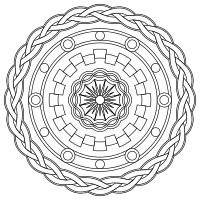 Print and color mandalas online