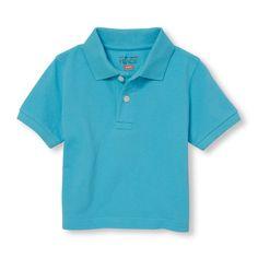 Toddler Boys Short Sleeve Pique Polo