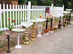 Bird baths, diy outdoor sectional, water feature, compost cover...lots of outdoor ideas!!!