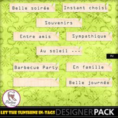 A small pack of French tags you can use everywhere. They are PNG files, 300 DPI. PU Only