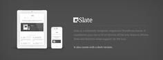 Slate WordPress theme