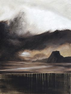 Lion's Shrould - Acrylic on canvas - by New Zealand artist Julian Hindson - 900mm x 1200mm -www.hindson.co.nz Edge Of Tomorrow, Lions, New Zealand, Landscape, Canvas, Artist, Painting, Tela, Lion
