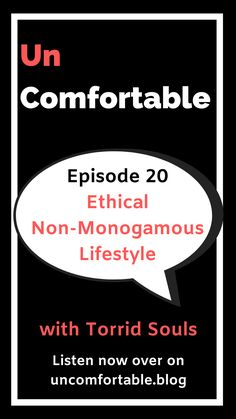 In this episode of Uncomfortable, I explore ethical non-monogamy. I was lucky enough to chat with Tori and Soul of the Torrid Souls podcast. Tori and Soul are a same sex, bi-sexual, ethical non-monogamous couple. They have been together for many years but just recently got married. This was an incredibly fun convo that was highly educational!  Listen now over on your favourite podcast player!!  #podcast #UncomfortableThePodcast #swinging #swinginglifestyle #nonmonogamous Swinging Life Style, Orgasmic Meditation, Tantra, Love Your Life, Self Esteem, Positivity, Conversation, Beauty Night, Check