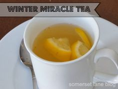 how to make miracle tea to fight sore throat and coughs.  good for adults and kids... 3 ingredients