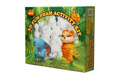 Have fun creating your own quirky animal characters with theis 3D Fun Foam sculpting kit.