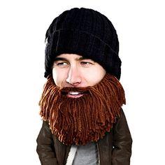 Bobble Beard Crochet Hat Pattern Easy Video Instructions f5a5d215bf6