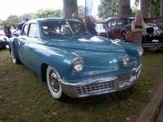 "Tucker Torpedo only 50 made wish I had one!  We just watched the movie again last night ""Tucker the man and his dream"""