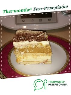 Ciasto krówka jest to przepis stworzony przez użytkownika AngryAnia. Ten przepis na Thermomix<sup>®</sup> znajdziesz w kategorii Desery na www.przepisownia.pl, społeczności Thermomix<sup>®</sup>. Tiramisu, Ethnic Recipes, Thermomix, Kuchen, Tiramisu Cake