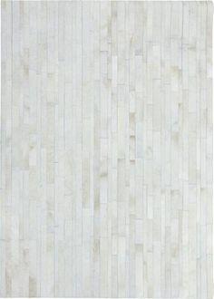 Kilroy patchwork skind diamant i offwhite - Kilroy patchwork skind diamant i offwhite-170 x 240 cm. - Din tæppekæde.dk