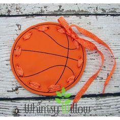 Basket Ball Lacing Card