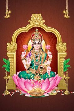 Ads Art Poster Wall decorative and Personalise Greeting cards Lakshmi Photos, Lakshmi Images, Indian Goddess, Goddess Lakshmi, Ganesh Idol, Ganesha, Holy Symbol, Rama Image, Ganesh Photo