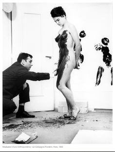 Quand le corps se fait « pinceau vivant » avec Yves Klein - Philippe Sollers/Pileface