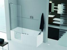 no Whirlpool Bathtub, Iris, Doors, Shower, Interior Design, Google, Bathroom Ideas, Bathrooms, Outdoor