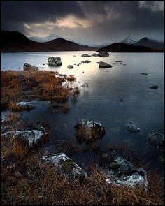 Rannoch Moor by Stuart-Low, via Flickr; Achallander, Scotland