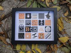 3D Frame Art. Created using Stampin' Up's My Digital Studio! Inch of Creativity: Simply Stars Halloween Blog Hop!