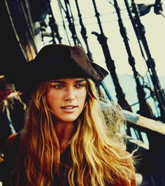 Keira in The Pirates of the Caribbean