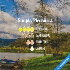 Simple Pleasures - Essential Oil Diffuser Blend