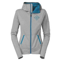 Ski The East Women's Swift Tech Zip Hoodie Gray 2016