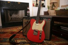 1962 Fender Telecaster 1966 Deluxe Reverb Moose Drool