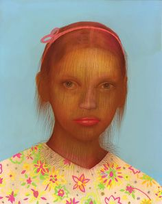 Hairy Children Portraits by Erik Mark Sandberg. Los Angeles.