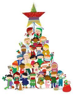 Mejores frases de Navidad Christmas Trees For Kids, Christmas Mood, Noel Christmas, Christmas Wishes, All Things Christmas, Vintage Christmas, Christmas Crafts, Christmas Decorations, Clipart Noel