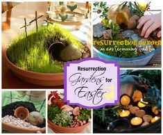 Resurrections Gardens and Easter Garden Ideas