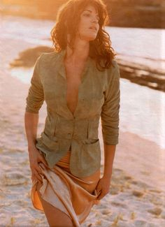 Stephanie Seymour, Gerard Darel ad, by Marc Hispard Paradise City, Stephanie Seymour, Gerard Darel, First Girl, Celebrity Photos, All In One, Supermodels, Actresses, Celebrities