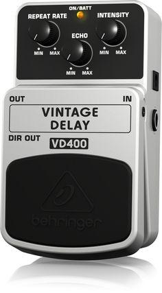 Behringer VD400 - vintage delay
