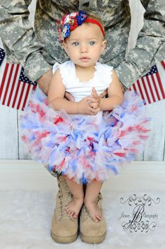 pinterest RED WHITE AND BLUE OUTFITS | Red White Blue Petti Tutu dress | Baby Outfits We Love