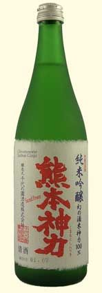 SACRED POWER - This is the only Japanese sake brewed with Shinriki, a rare strain of rice that is the ancestor of many of today's sake rices. It was recently revived from small stocks by this brewery. >> Try with: Fresh oysters, Mustard greens
