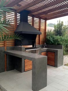 Barbecue Design 2020 - How long do you let charcoal burn before cooking barbecuedesign homedesign homeideas homedecor # Build Outdoor Kitchen, Backyard Kitchen, Summer Kitchen, Outdoor Kitchens, Rustic Kitchen Design, Outdoor Kitchen Design, Barbecue Design, Kitchen Arrangement, Backyard Patio Designs