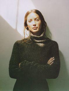 """Artistry"": Christy Turlington photographed by Patrick Demarchelier for Harper's Bazaar, September 1993"