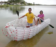From those 40 billion PET plastic bottles that are produced every year in the United States, two-thirds end up in the regular trash. Start recycling and reusing. Here are a few alternatives to help the environment in a creative way.