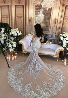 648aef39f7fc Leah Da Gloria Custom Made Wedding Dress on Sale Wedding Bride, Dream  Wedding, Wedding